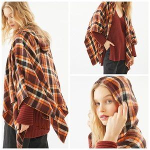 Urban Outfitters Hooded Poncho